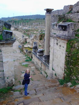 Photo of Antalya Perge, Aspendos and Manavgat Waterfalls Day Tour from Antalya Nymphaeum (fountain house) at Perge