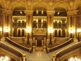 Photo of   Staircases in Palais Garnier