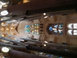 Inside Sagrada Familia , Kavi - May 2016