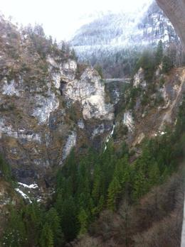 Photo of Munich Neuschwanstein Castle Small Group Day Tour from Munich The bridge from the castle