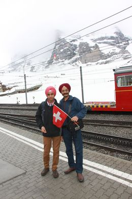 We changed another train , Tejinder S - April 2015