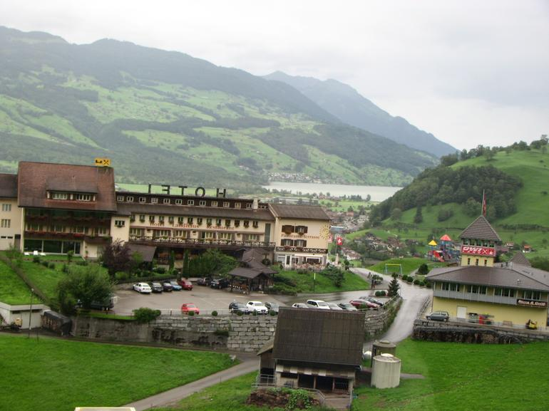 View of Interlaken from Bus - Lucerne