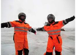 Photo of Reykjavik Golden Circle Tour by Super Jeep Including Glacier Snowmobiling we're ready!