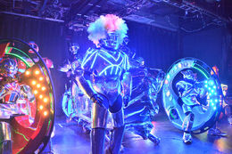 Robots at the show. Photo courtesy of the Robot Restaurant. - June 2015