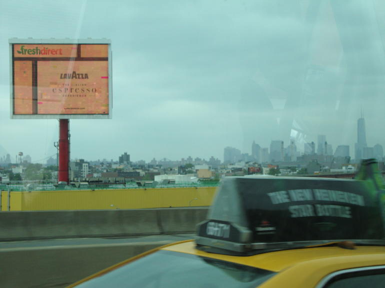 approaching  The Big  Apple - New York City