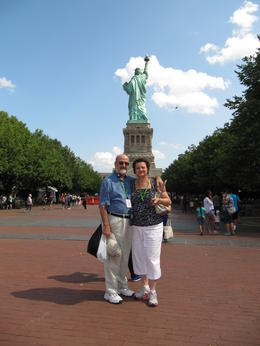 Photo of New York City Viator Exclusive: Statue of Liberty Monument Access and 9/11 Memorial AT THE FEET OF THE STATUE OF LIBERTY!