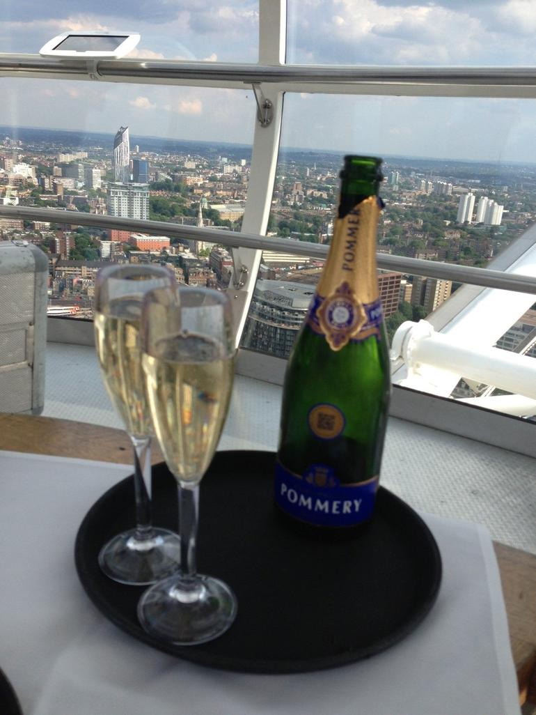 Champagne on the London Eye - London