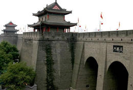 Photo of Xian Private Tour of Xi'an City Wall, Great Mosque and Terracotta Warriors City Wall