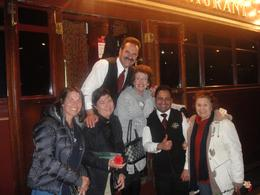 17 September 2010 - The Le Roux-party and crew after a fabulous evening, Elzette L - October 2010
