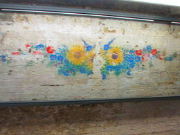 Mural Excavated: Made by those working in the Kitchen of Sachsenhausen. , Western C - June 2015