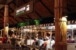 Photo of Singapore Singapore Zoo Night Safari Tour with optional Buffet Dinner Getting on the tram