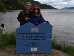 We were keeping a sharp eye out for Nessie! , Greg A - August 2012