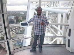 Champagne at London Eye , tomas j - October 2015