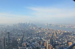 Taken from top of Empire State building , Jeffery S - February 2014