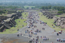 Photo of   Main Steet of Teotihuacan