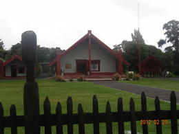 Welcome house of the Maori , Jose G. A. - March 2012