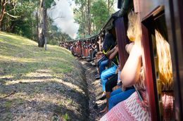 Photo of Melbourne Yarra Valley Wineries and Puffing Billy Steam Train Day Tour from Melbourne Memorable experience with this tour company