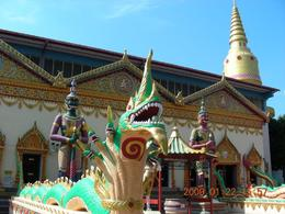 Photo of Penang Penang Hill and Kek Lok Si Buddhist Temple Afternoon Tour Outside the Sleeping Buddhist Temple
