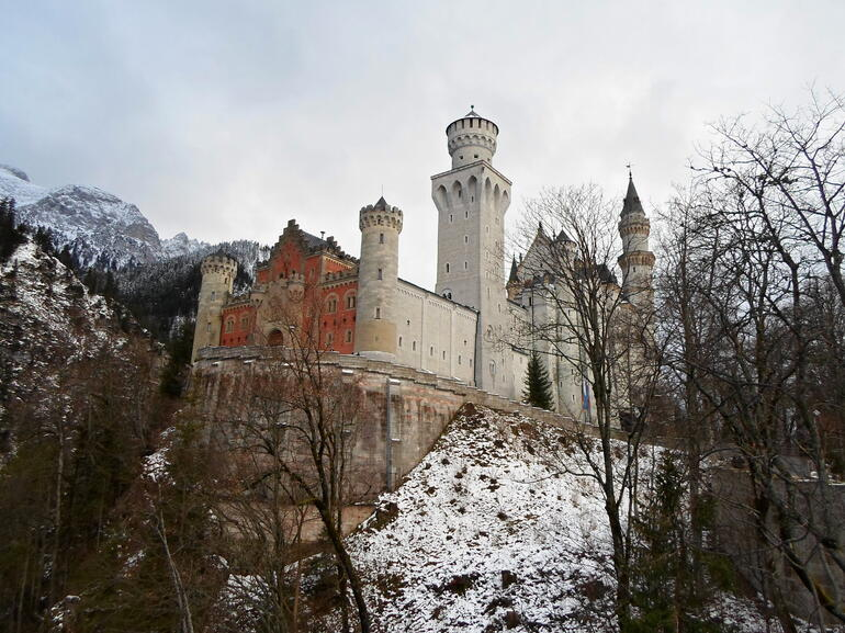The castle in December 2012 - Munich