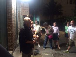 Photo of New Orleans New Orleans Haunted History Ghost Tour Tour guide, Jack, telling it like it is!