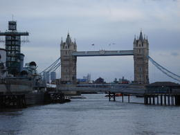 Tower Bridge, Cat - January 2012