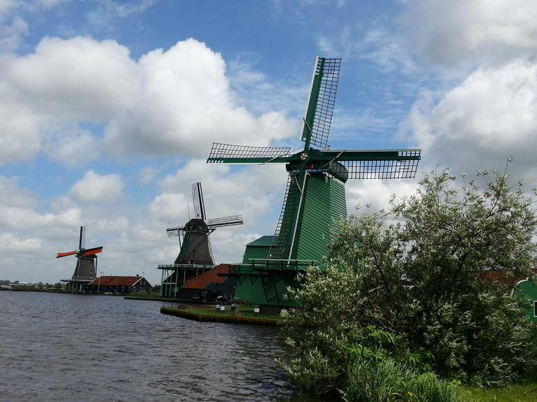 Zaanse Schans - the windmills wonderland.