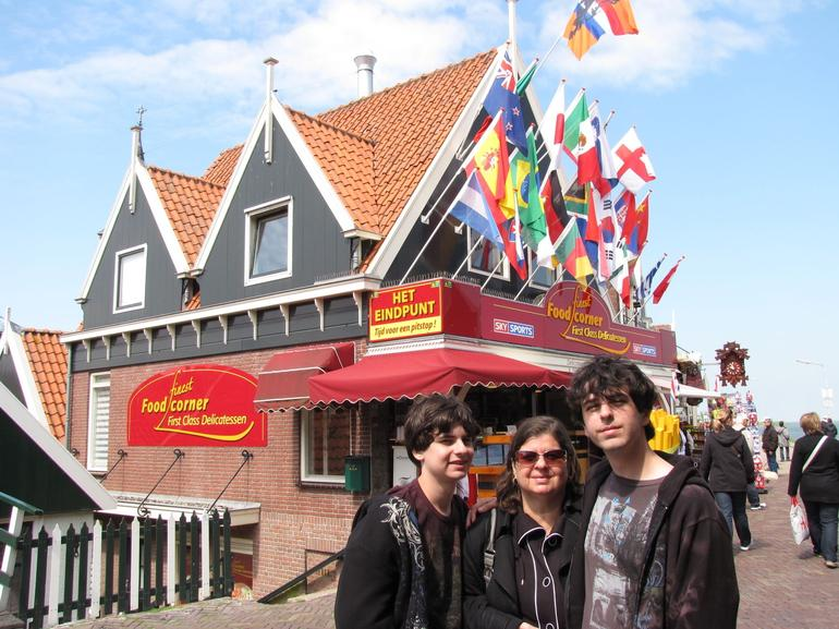 A nice place to eat Volendam - Amsterdam