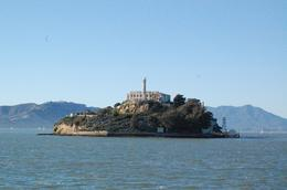 A shot of the island from our ferryboat, Chenoa H - November 2009
