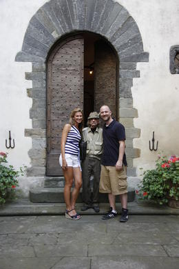 Photo of Florence Chianti Region Wine Tasting Half-Day Trip from Florence Chateau with Mario