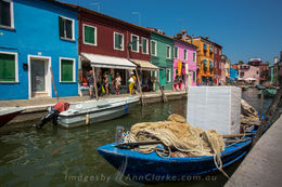 Vibrant fishing village of Burano , Elizabeth C - August 2015