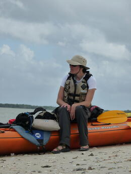 We kayaked to other small islands in the Everglades quite bit on this tour, I really liked it., kellythepea - May 2014