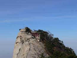 There are temples on the peaks of the mountain - May 2012