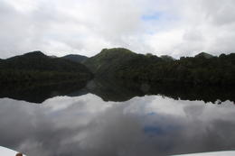 Photo of Tasmania Gordon River Cruise from Strahan In the clouds
