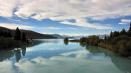 Photo of Queenstown Queenstown to Christchurch via Mount Cook Full-Day Tour Lake Tekapo