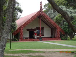 Photo of Auckland Waitomo Caves and Rotorua Day Trip from Auckland Maori House