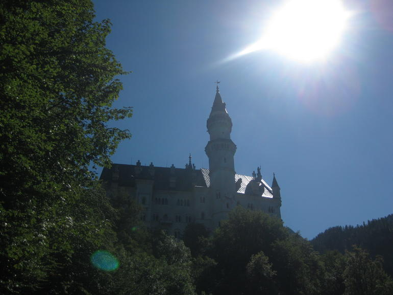 Neuschwanstein Sunburst - Munich