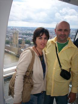 On the London Eye., Alfred M - July 2008
