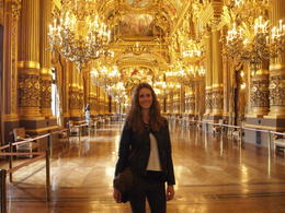 Photo of   Me inside Palais Garnier