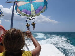 Photo of   Parasailing! Negril Beach, Ocho Rios