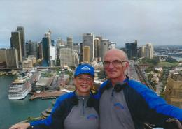 My husband and I on our first trip to Australia! , Gerald P - March 2014