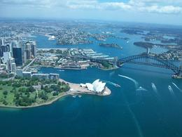 Photo of Sydney Sydney Harbour Tour by Helicopter Sydney Harbour from helicopter