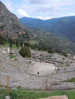 Photo of Athens Delphi Day Trip from Athens The amphitheatre at Delphi