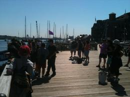 Photo of   The pier at Boston Harbor