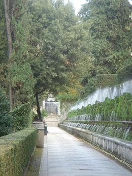 Photo of Rome Hadrian's Villa and Villa d'Este Half-Day Trip from Rome Wall Fountains