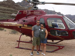 Photo of Las Vegas Grand Canyon All American Helicopter Tour What a place to land.