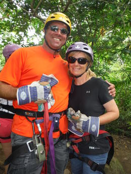 We had heard great things about Buena Vista Rainforest Combo tour and it was absolutely amazing. The zip lining was great, the water slide was crazy, the meal was fantastic and then the horse ride..., Jeffrey M - September 2014