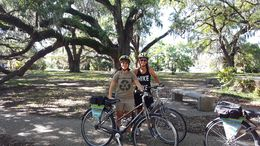 A very fun bike tour through New Orleans , Marlin H - April 2016