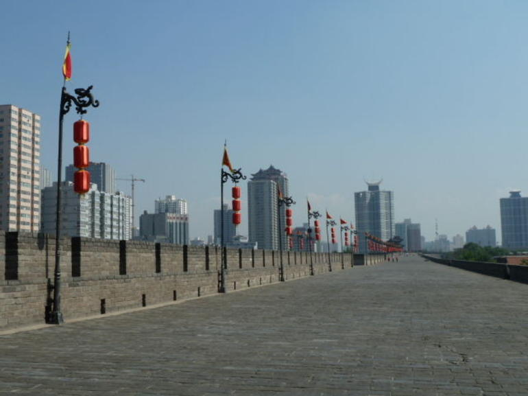 Walkway on the city wall