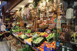 The Florence food market where the locals buy their fresh food daily , Nancy M - May 2013