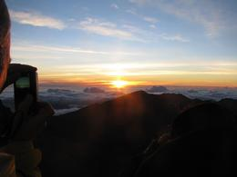 Photo of Maui Spectacular Haleakala Maui Sunrise Tour haleakale sunshine july 2010